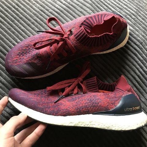 15a03820fe908 Burgundy ultraboost Uncaged