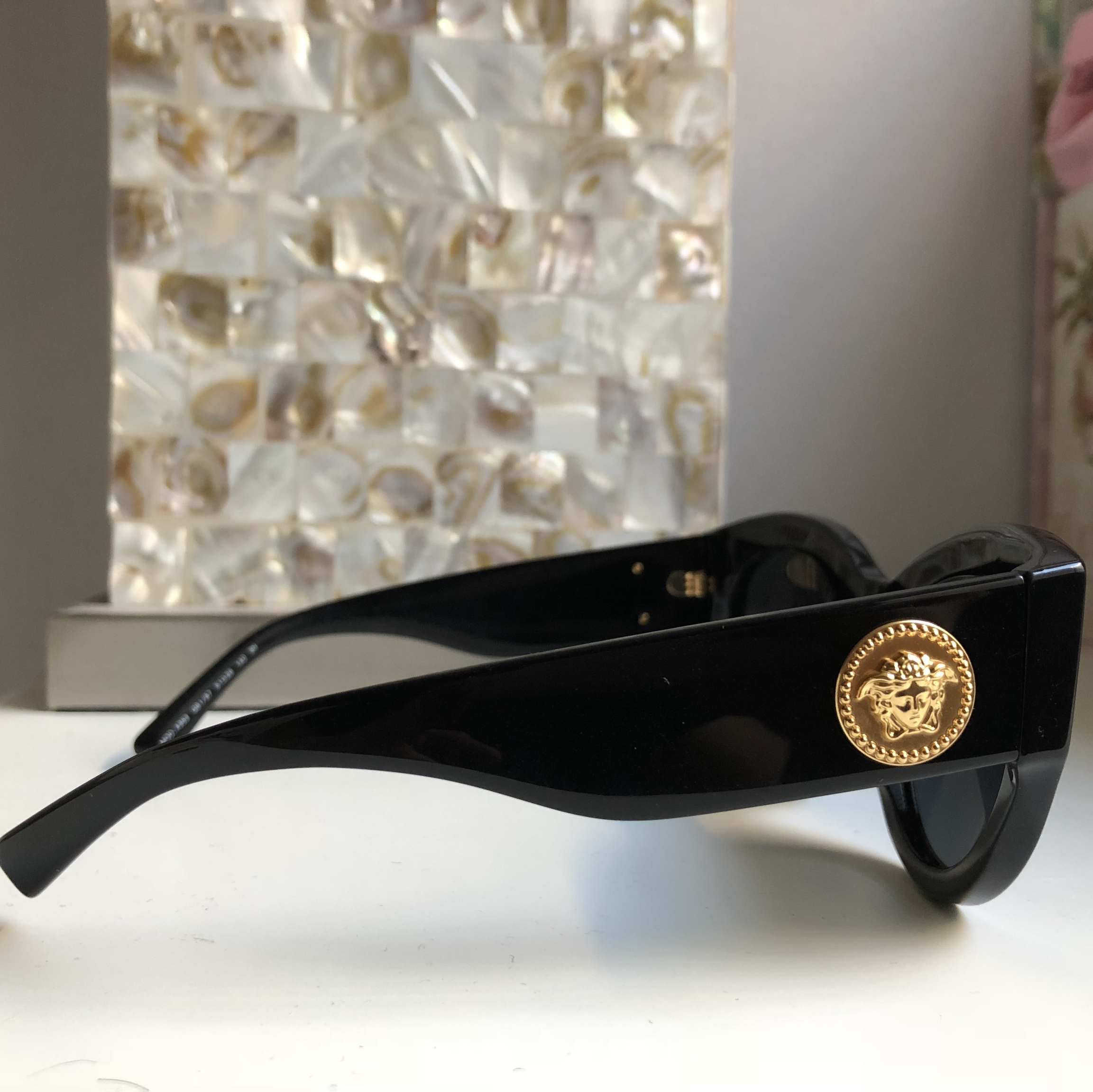55e3f7d03991 VE4353 Versace Sunglasses. Tribute Collection from... - Depop
