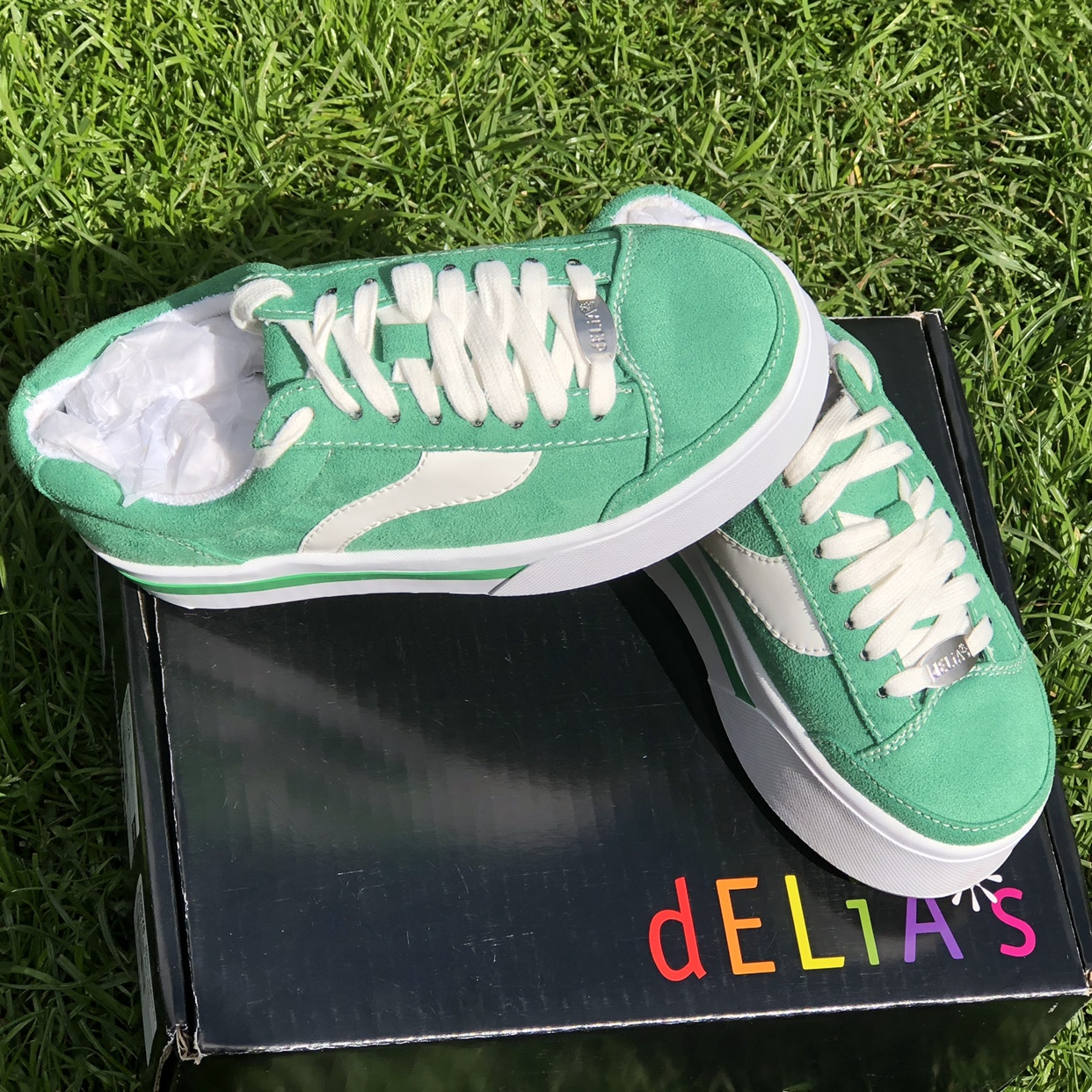 WHATS MY AGE AGAIN SKATER SNEAKERS By