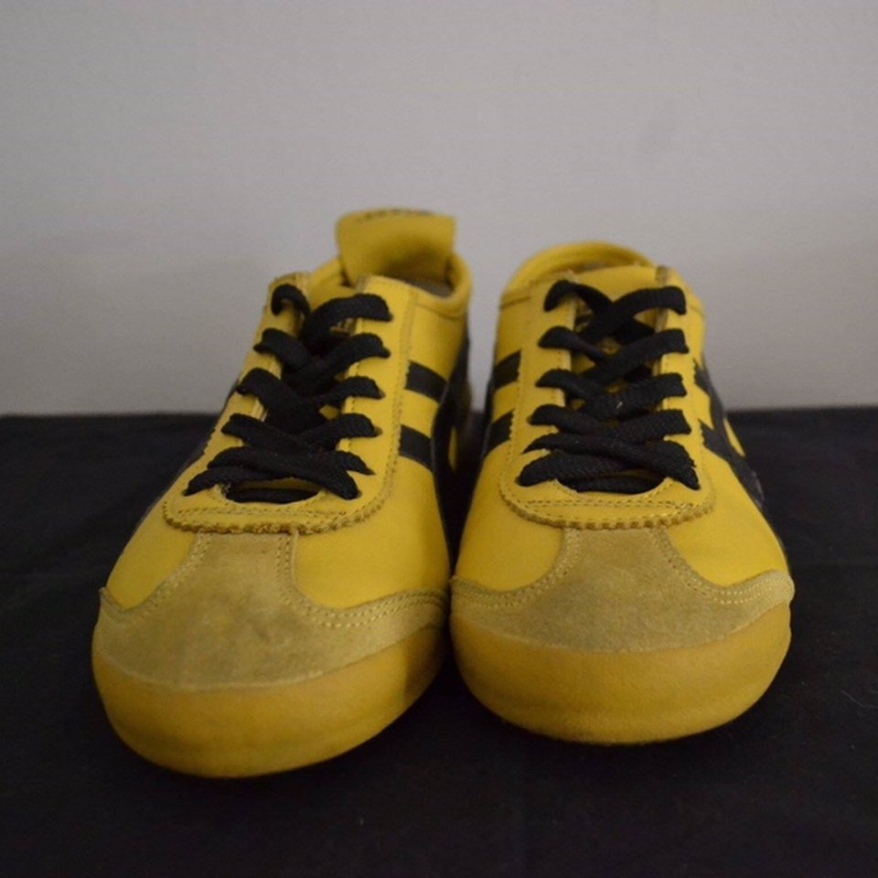 competitive price 31422 089b1 Rare ASICS Onitsuka tiger Mexico 66' yellow leather... - Depop