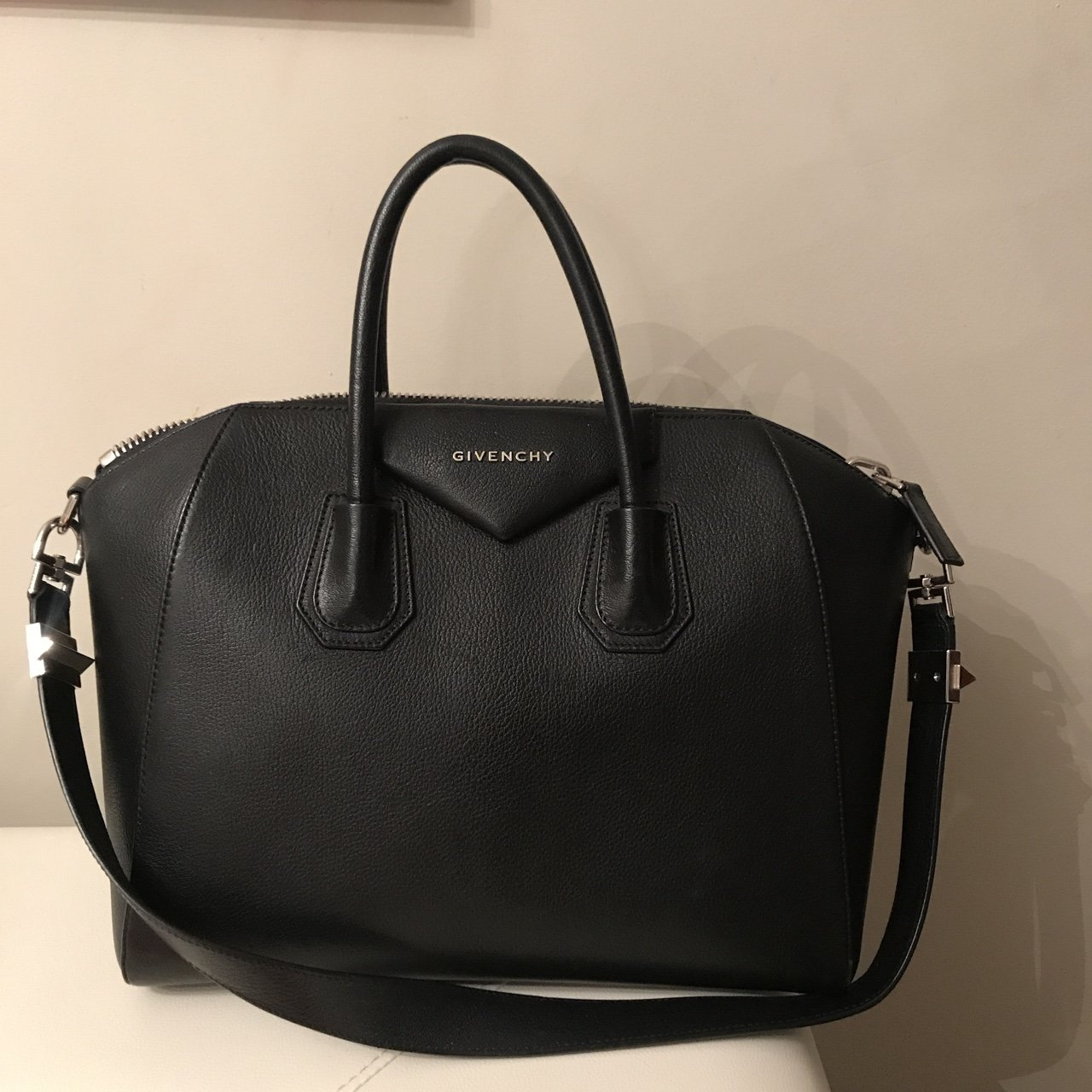 9837d4a0475b Givenchy bag brand new used once Authentic bought it in I - Depop