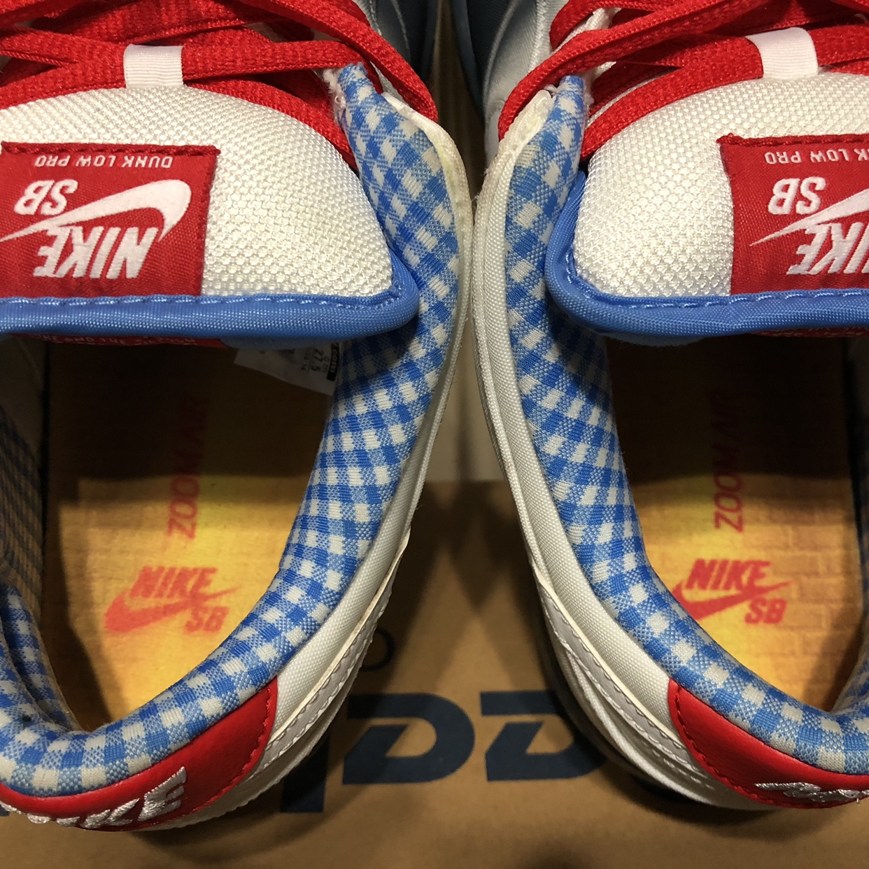 finest selection 691fa bd596 Nike sb dunk low Dorothy shoes are basically new... - Depop