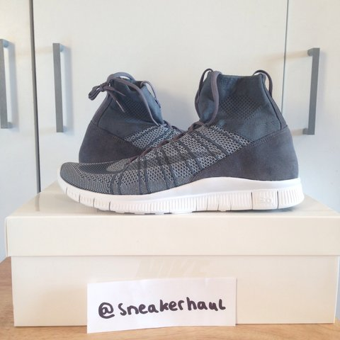 5ceeea830 Nike Free Mercurial Superfly Dark Grey UK10 EU45. This was - Depop