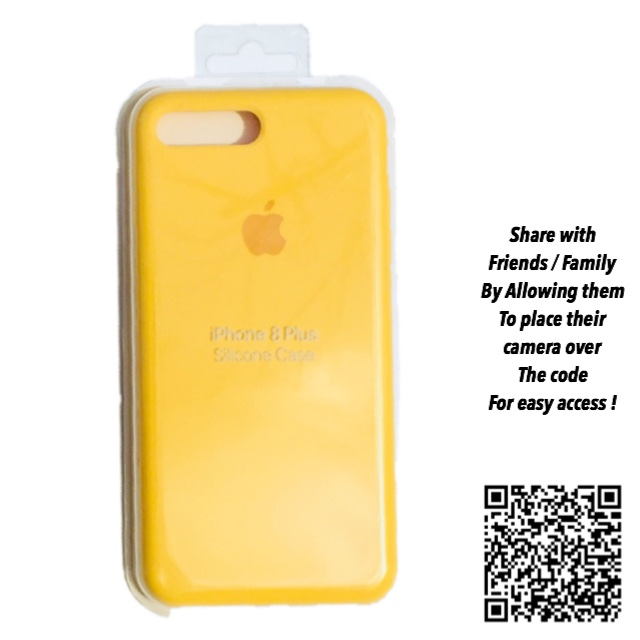quite nice 9cde6 cfeaa Yellow Lemonade IPhone 7/8 plus Silicone Case... - Depop