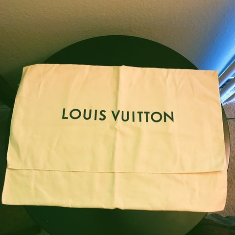 06eeaf962911 LOUIS VUITTON DUST BAG 100% AUTHENTIC!! Yasss get your dust - Depop