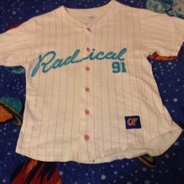 b652ea858366 Radical Baseball jersey Size M excellent condition . Tags - Depop