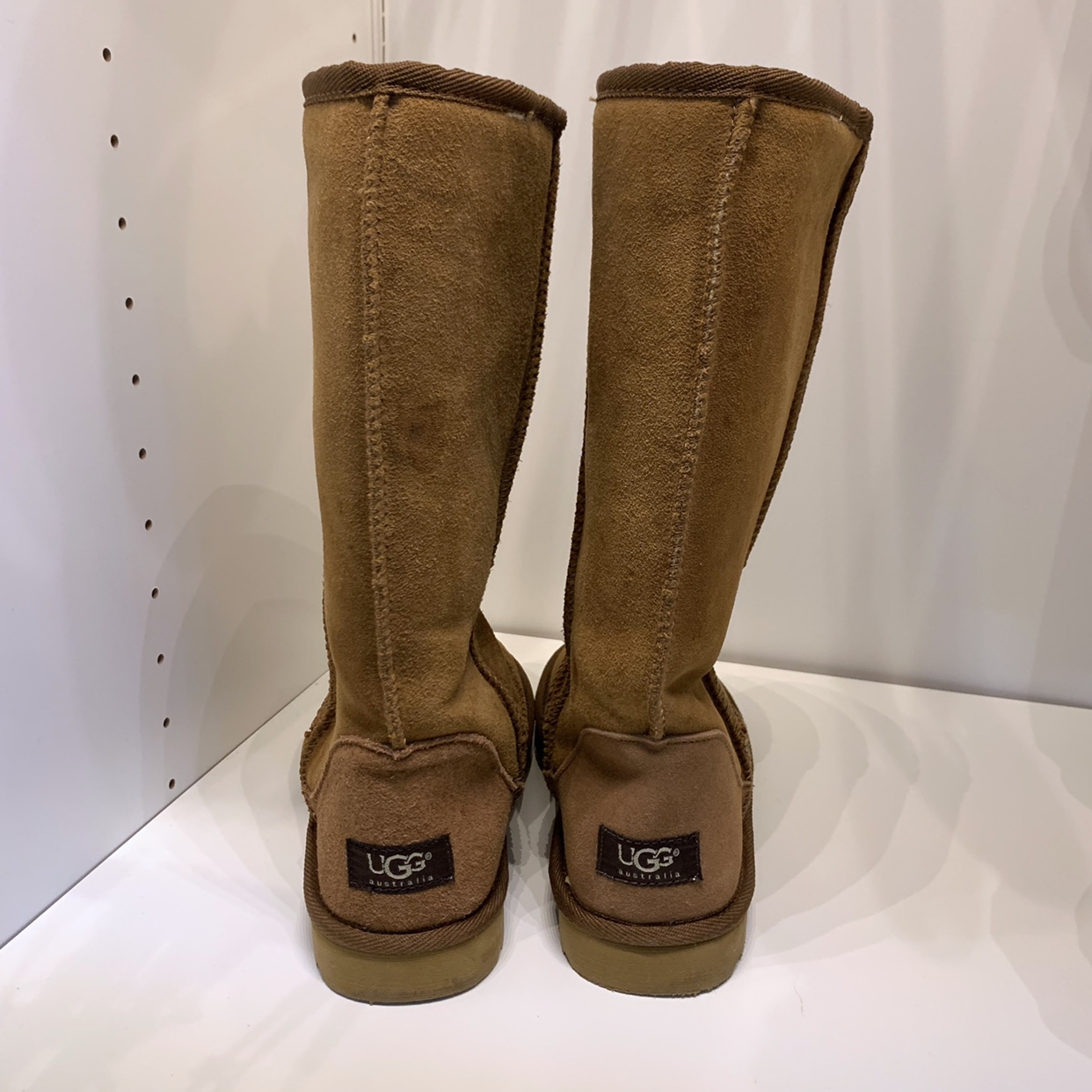 NWOT Uggs, Classic Tall, small stains, probably    - Depop