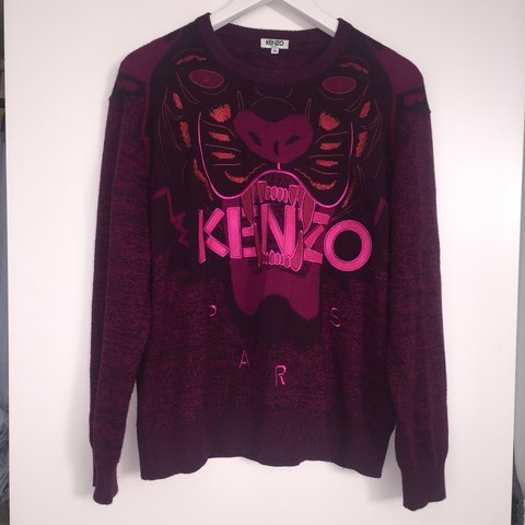 4063e1a8 Kenzo jumper. 100% wool so I bought for £405.!Only worn once - Depop