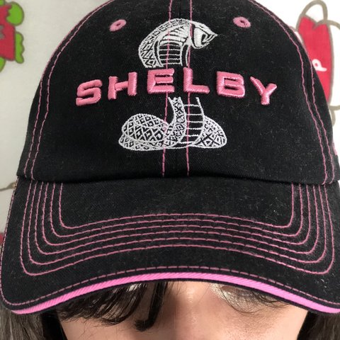 399ea97fb3b3f Shelby Cobra Mustang baseball cap. Never worn and in perfect - Depop