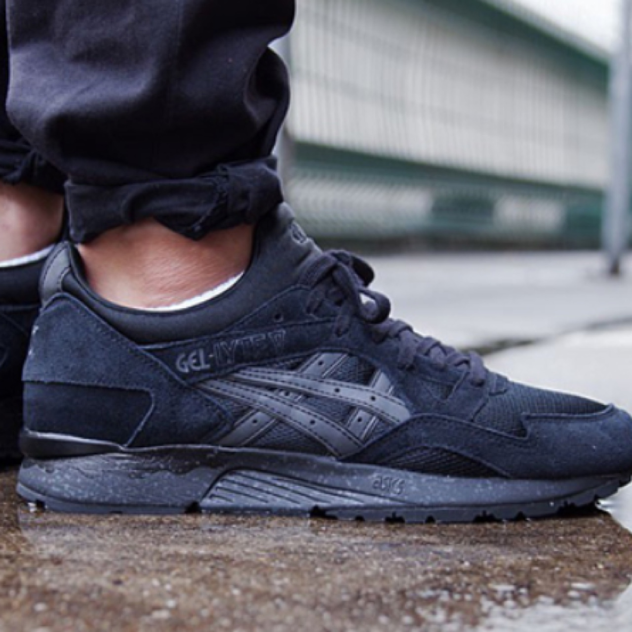 quality design 750e4 405e8 WANTED - asics gel lyte v trainers in all black,... - Depop