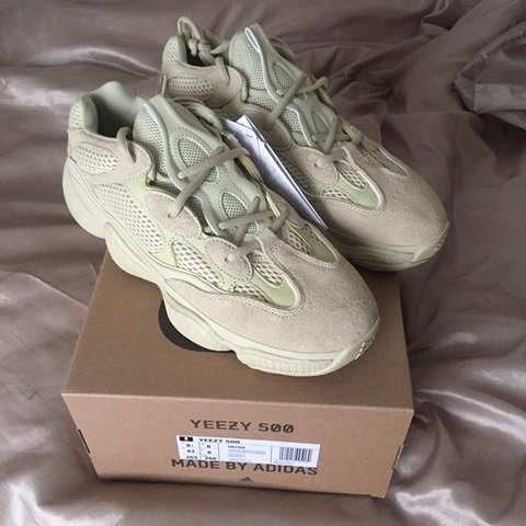 1cfc0e4e6 BRAND NEW Yeezy 500 Supermoon Yellow UK8 Comes with box and - Depop