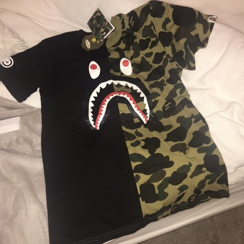 6db0e419 @nicollewaltham1. 6 months ago. Rochester, United Kingdom. Men's Bape a bathing  ape t shirt.