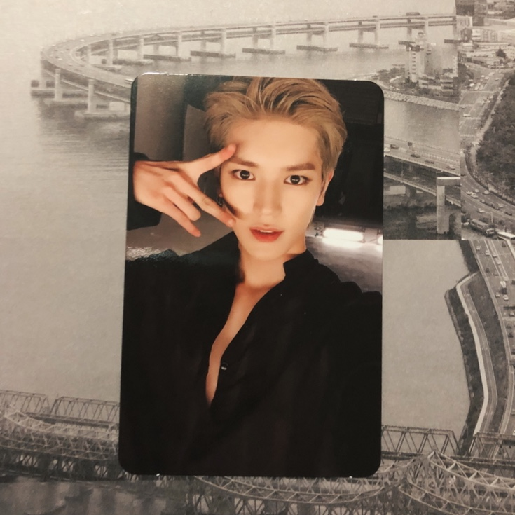 official nct taeyong regular irregular photocard    - Depop