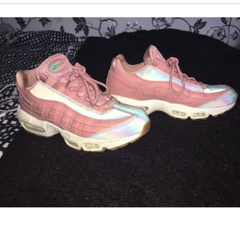 b21041cf0070 Nike Air Max 95 -Worn -Size 6 -Good condition £125 Not with - Depop