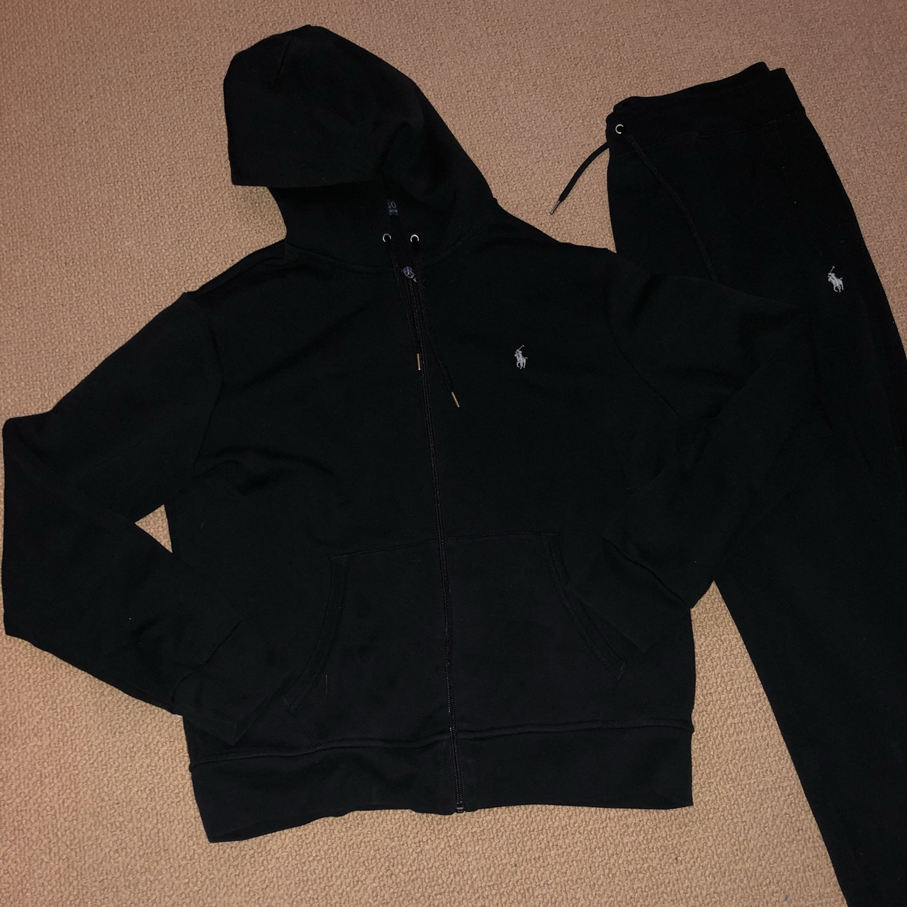 New style polo Ralph Lauren tracksuit size large in Depop