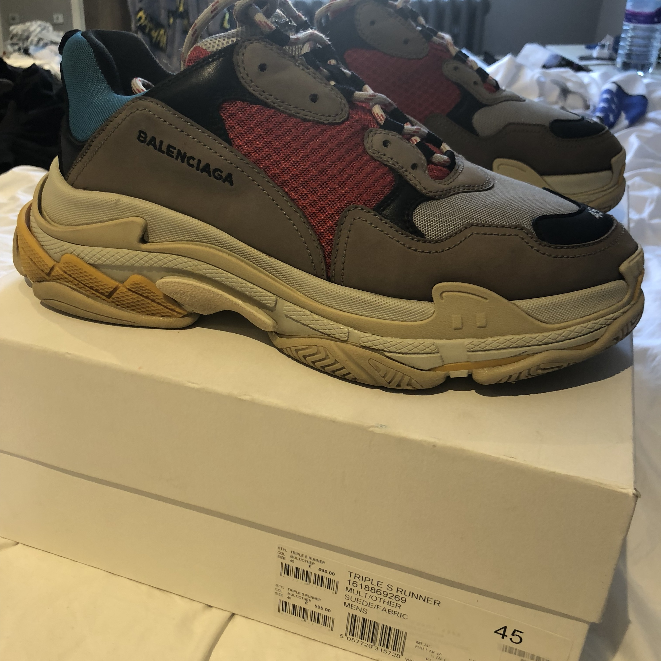 Kickzspot DEAL CỰC TỐT Balenciaga Track Trainer Orange