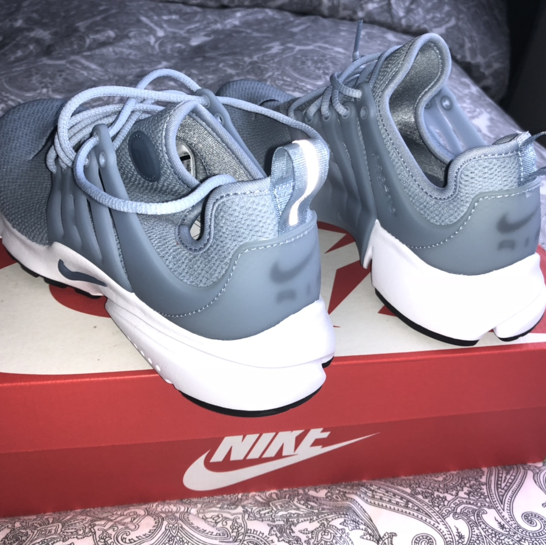 super popular d1cc8 67b77 Nike Air Presto (Baby Blue) Women's UK size 4.5.... - Depop