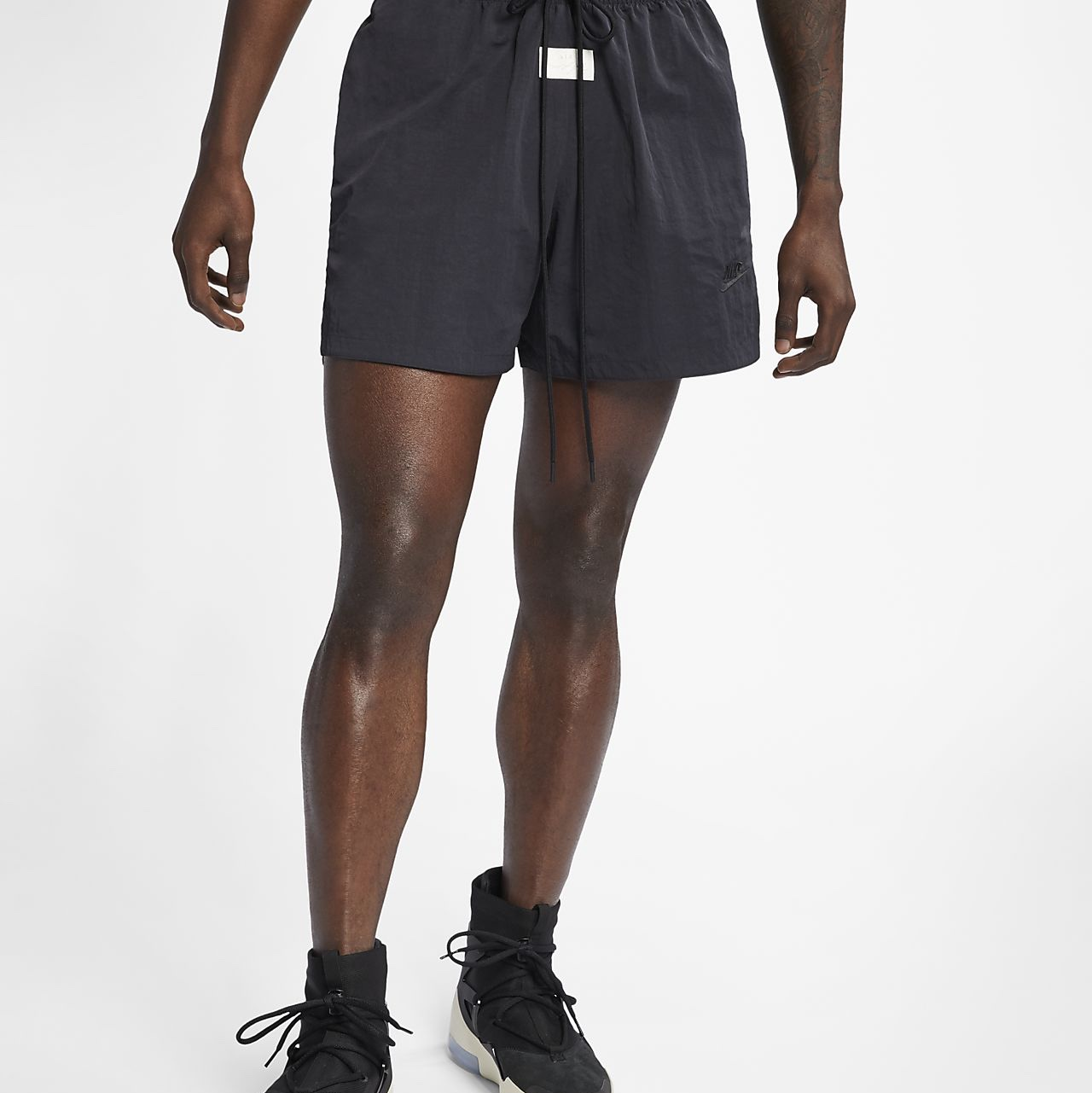 fear of god x nike shorts