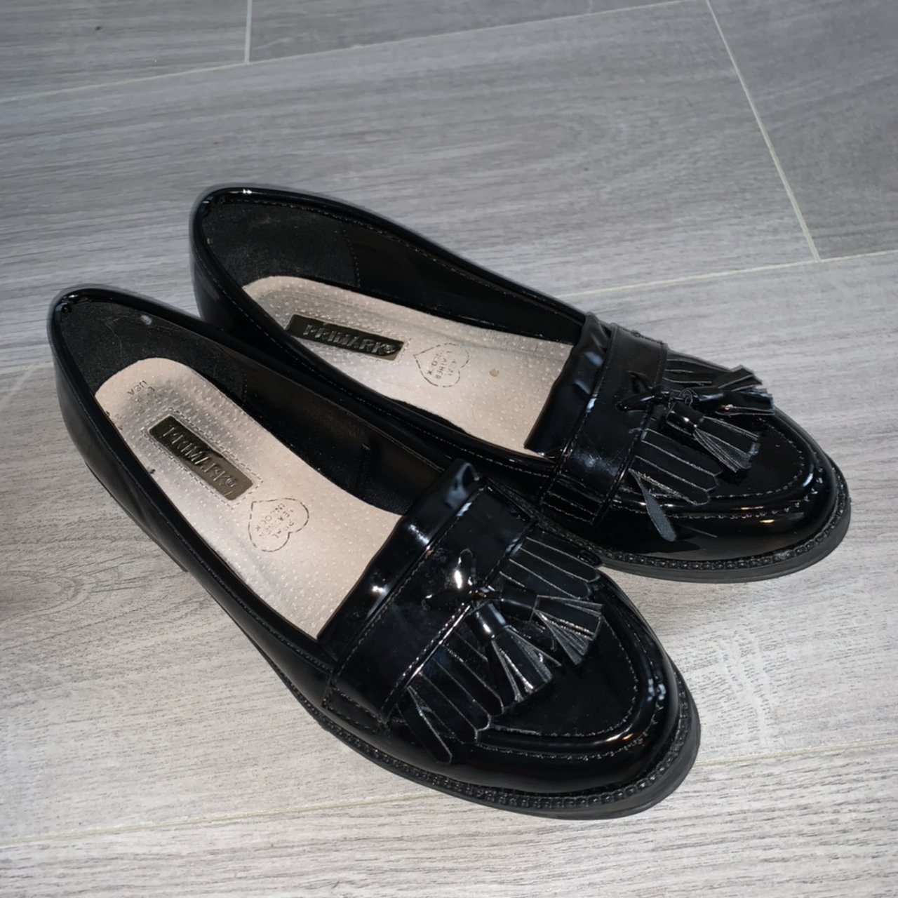 Black school shoes from primark. Bought