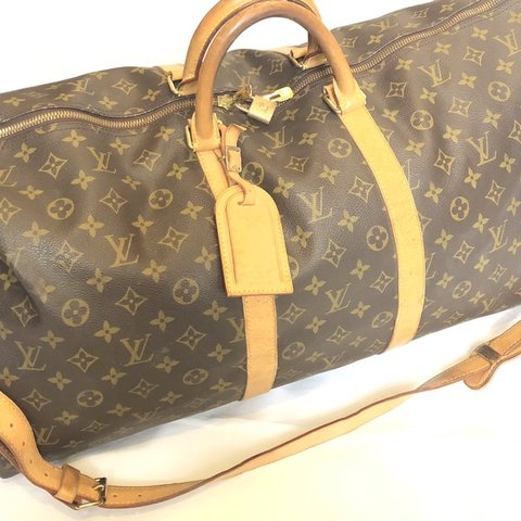 898f8dc5f93b LOUIS VUITTON Vintage Keepall 55 Duffle Bag This is a 55