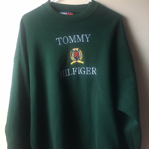be9371fb @trash_witch_vintage. 3 months ago. Philadelphia, United States. Vintage  90s Tommy Hilfiger sweatshirt. Great condition.