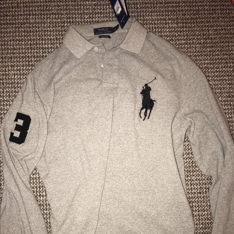 "eb0479b2b Long sleeve ""Polo Ralph Lauren"" New. Big Pony 3 - Size L"
