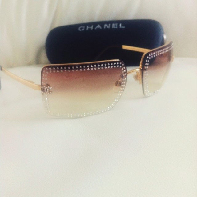 8320a2e5f6 Limited edition Chanel sunglasses never worn - Depop