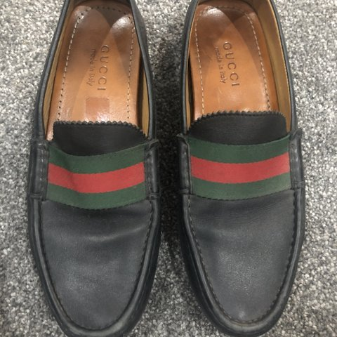 e32730a77 Men's Gucci Loafers size 7.5 (worn for a few weeks). Having - Depop