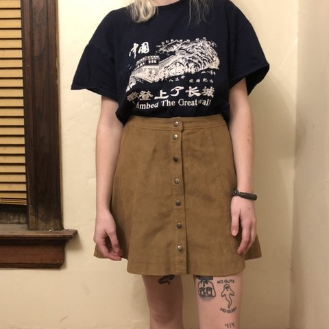 0eeb56d2b @lexandjohn. 6 months ago. Milwaukee, United States. corduroy button up  skirt super cute and comfortable abercrombie ...