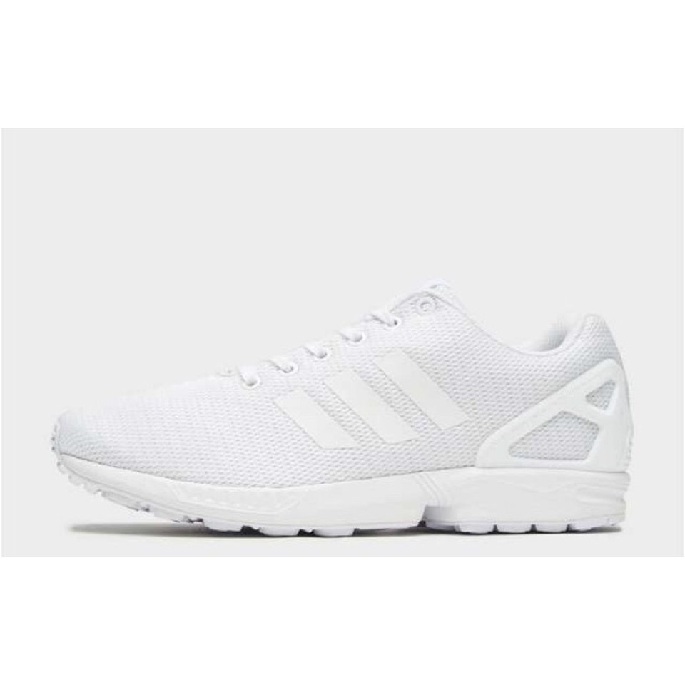 sports shoes 1f31e 48ed2 white adidas flux trainers. size: 5. Originally... - Depop