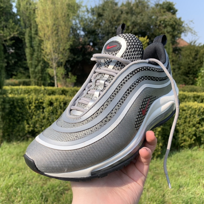 RESERVED Nike Air Max 97 Ultra 17 GS 'Silver Depop