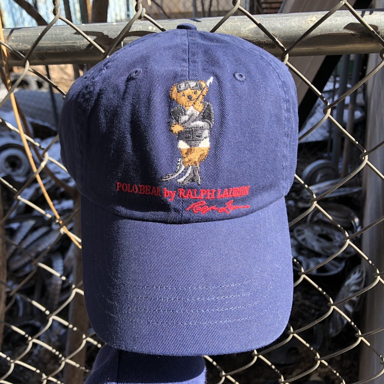 a0838f50c9a Pink polo Ralph Lauren hat fits all sizes and good condition - Depop