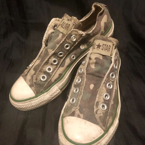 9e8d418864647 @giraffacekillah. 4 days ago. Knoxville, United States. Converse All Star  Camo Slip-on ...