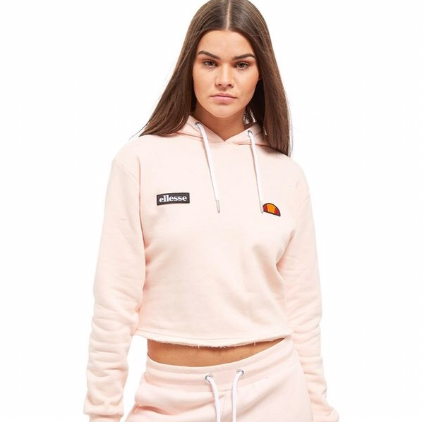 purchase original fashion styles best selling Cropped Ellesse hoodie from Jd sports , is so pretty... - Depop