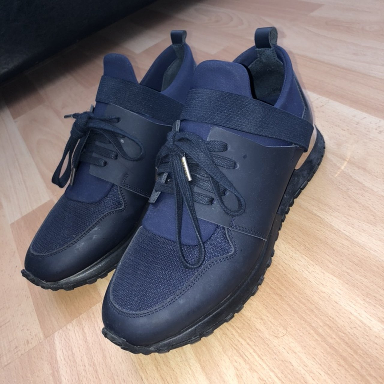 Tommy mallets navy Runner Bought from