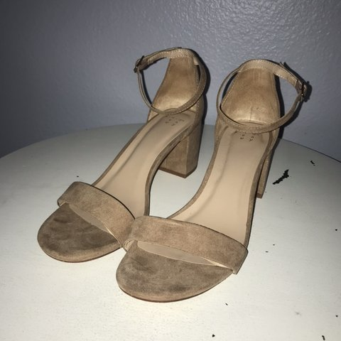 6fe8cf82db4 Adorable nude heals that I wish looked good on me but I wear - Depop