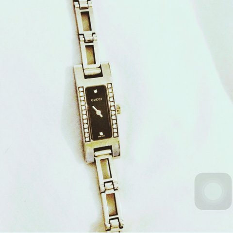 2ef46a11ce1 Authentic RARE Gucci watch Mother Of Pearl Face   12 cut RRP - Depop