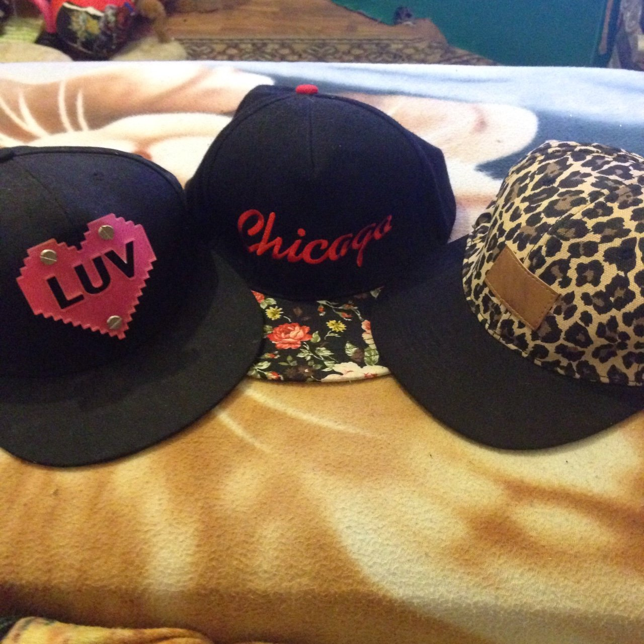 Set of 3 SnapBack hats b7ee291742e7