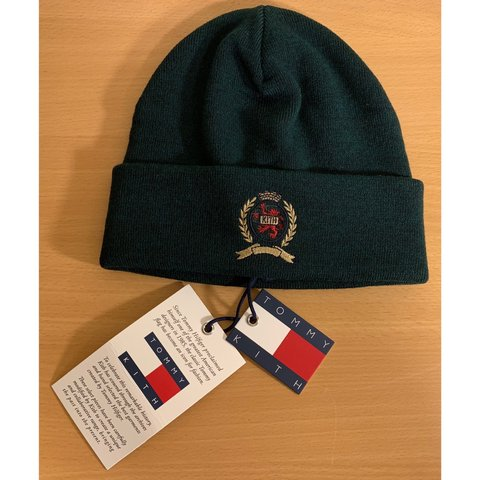 7b6f14f3 @ripresale. 5 months ago. Omaha, United States. DS Forest KITH x Tommy  Hilfiger Beanie! Brand new!