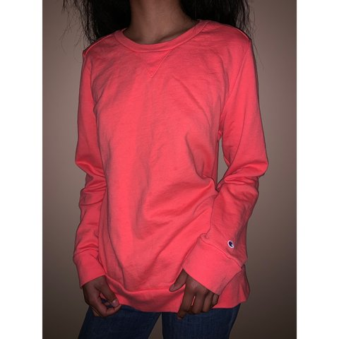 aa8abcd289d0 @ripresale. 2 months ago. Omaha, United States. Coral Champion Sweatshirt!