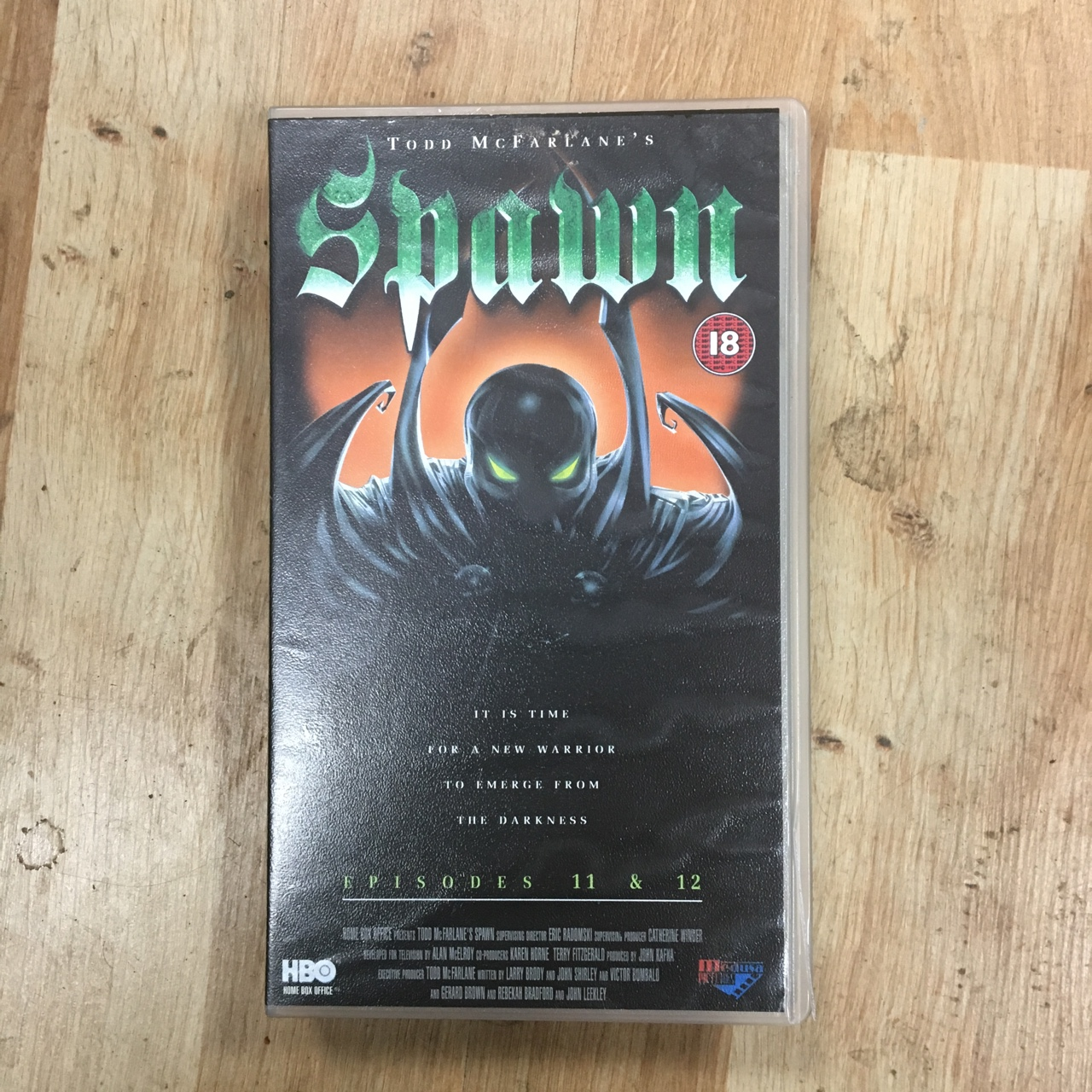 Spawn Episodes 11 and 12 VHS Video Cassette Tape