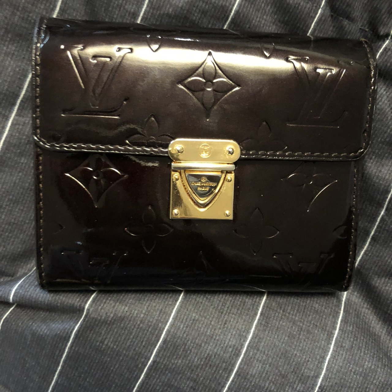 7dbde3471 lv brown wallet the zipper