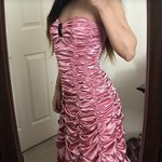 8c74a1a5b17 Sleeveless lime green prom dress purchased from JC Penney. a - Depop