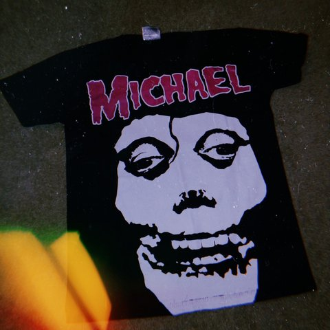 37d9b067daf Misfits rip featuring Michael Jackson as the famous iconic a - Depop