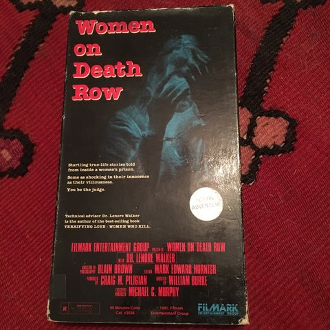 Women On Death Row VHS Prison documentary by Dr     - Depop