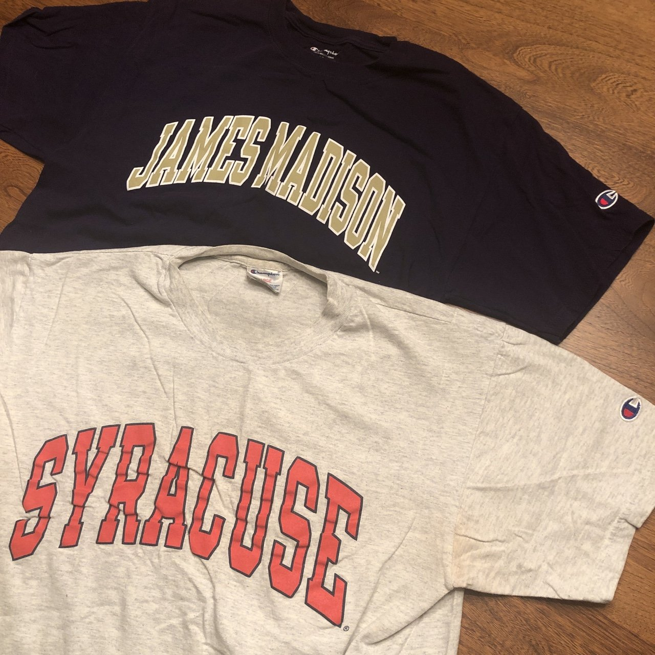 @quentinwearantino. 3 months ago. Dallas, United States. Vintage Champion college  t shirt lot