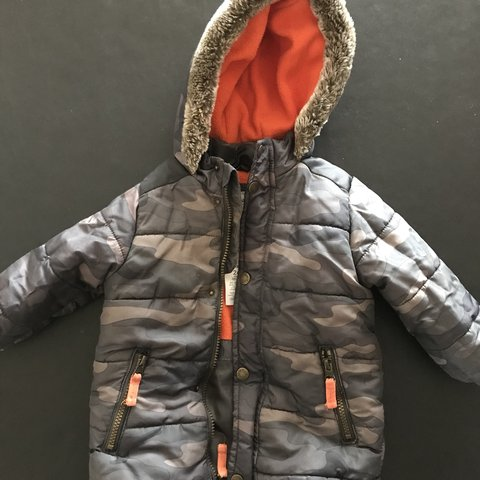736792cb2 Adorable Carters coat for your little man! Perfect during 2 - Depop