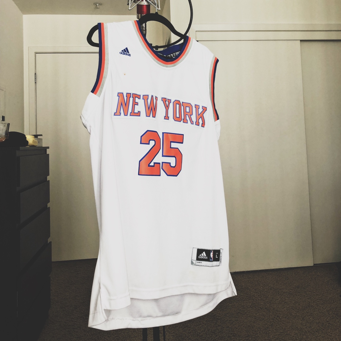 quality design 75578 64fc8 Derrick Rose Knicks Jersey - Depop