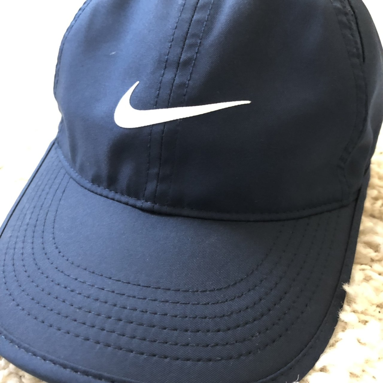 57270dc5359 Nike hat Navy blue Good condition Worn twice - Depop