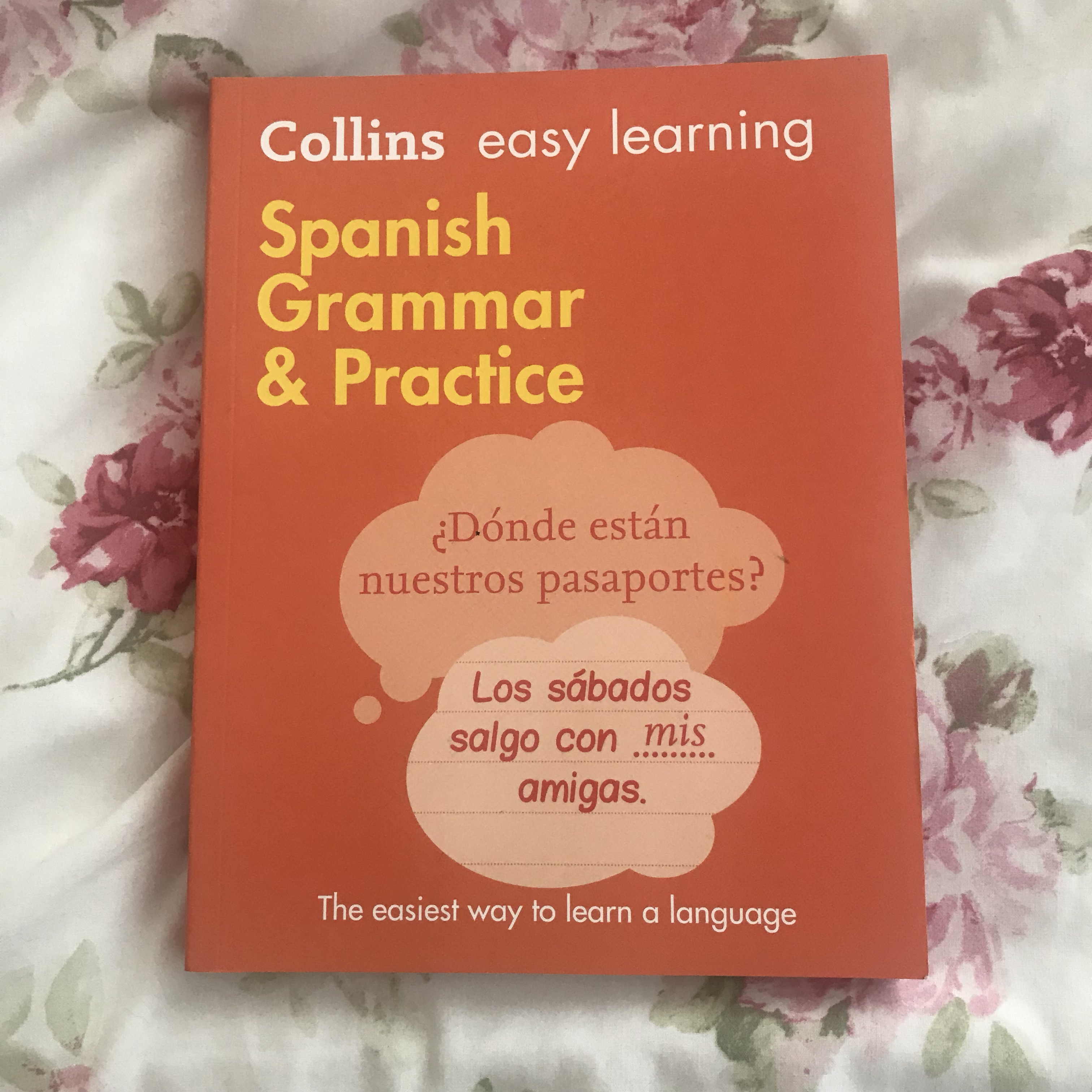 Collins easy learning Spanish Grammar & practice    - Depop